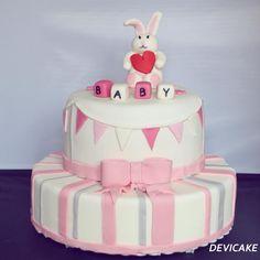 Baby shower fille ♥ Astuce pâtisserie pour réaliser de jolis gâteaux !