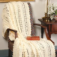 Diamonds & Shells Afghan - Free Crochet Pattern - (us2.campaign-archive2)