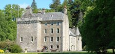 Culcreuch Castle, Fintry Scotland  Ancestral home of the Clan Galbraith  Beautiful hotel with great food