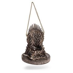 Game of Thrones Resin Throne Holiday Ornament Kurt S. Adler Game of Thrones Holiday Ornaments Game Of Thrones Tree, Game Of Thrones Ornaments, Game Of Thrones Decor, Game Of Thrones Gifts, Game Of Thrones Merchandise, Iron Throne, Games To Buy, Glass Christmas Ornaments, Christmas Tree
