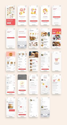 Food App UI Kit Bundle is a pack of 88 delicate food app UI design screen templates that will help you to design clear user interfaces for food apps faster and easier. - 88 iPhone X Screens - Customizable Fonts & Colors - 100% Vector Shapes - Compatible with Sketch App & Adobe XD * Get a FREE Illustration Pack with purchase this App Bundle ($38 worth of illustrations) #ui #design #app #cook #food #onboarding #order #delivery #recipes