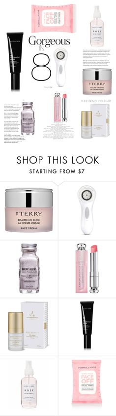 """SKINCARE"" by emmydcp ❤ liked on Polyvore featuring beauty, By Terry, Clarisonic, Christian Dior, Aromatherapy Associates, Allies of Skin, Holly's House and Accessorize"