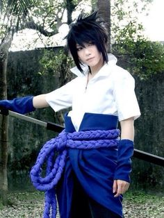 One of the best Sasuke cosplay