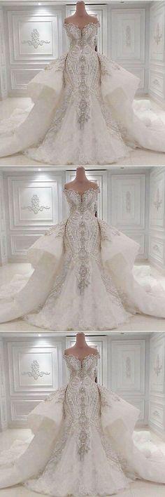 Wedding Dresses: New Luxury Ivory White Wedding Dress Bridal Gown Custom Size 8 10 12 14 16+++ -> BUY IT NOW ONLY: $85 on eBay!