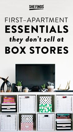 10 First Apartment Essentials They Don T At Box S College Apartments