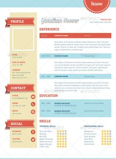 Buy Retro Style Resume by nsepstein on GraphicRiver. A 3 Piece Swiss Retro Style Resume resume designed to give you an edge when you apply for your next job or go for . Graphic Design Cv, Resume Design, Portfolio Design Books, Book Design, Cv Design Template, Resume Templates, Resume Profile, It Cv, Perfect Resume