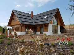 Villas, Wooden Cottage, Cottage Style Homes, Living Styles, Home Fashion, Future House, Tiny House, House Design, Cabin