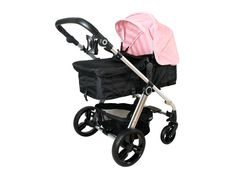 My Babiie MB150 2in1 Pushchair and Pram in Baby Pink