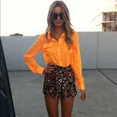 bright orange never looked so good