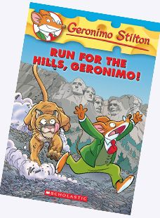 Geronimo Stilton and Thea Stilton Books- The kids swear by them. I just bought some for my son.