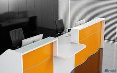 Легкость, органические формы и скромная элегантность - это черты новой стойки Wave. Она приводит в восторг своим тонким дизайном, напоминающим волны спокойного моря. Дополнительный характер ей придают декоративные полосы рядом с цоколем и белая верхняя столешница из стекла Lacobel.Стойка Wave доступна в разных модулях и цветах, что позволяет ей отлично вписываться в ваши потребности. Фасад стандартной стойки выступает в четырех матовых цветах: белом, синим, оранжевом и зеленым