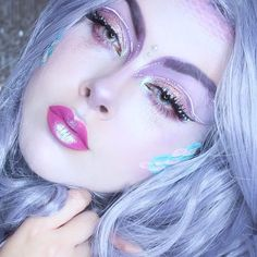 Ethereal angel @jackyohhh wearing #sugarpill Sparkle Baby palette eyeshadows in this dreamy look!  by sugarpill