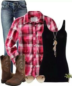 Cowgirl outfits for women, western wear, short en jean, country fashion, co Looks Country, Country Girl Style, Country Fashion, Top Country, Look Fashion, Autumn Fashion, Fashion Outfits, Womens Fashion, Kardio Workout
