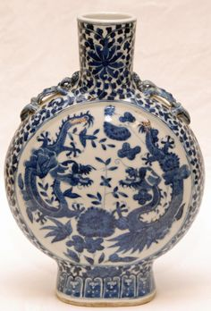 chinese blue and white Kangxi vase shapes - Google Search