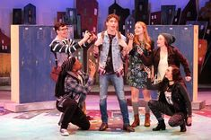"""School Day Invasion of the Body Switchers: """"Freaky Friday,"""" at the Circa Dinner Playhouse through March 24 Stage Design, Set Design, Freaky Friday Musical, The A Team, Disney Films, Having A Crush, Mean Girls, Disney Channel, What Is Like"""