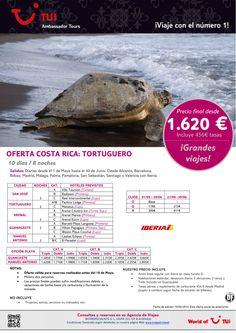 ¡Grandes viajes! Costa Rica TORTUGUERO. Precio final desde 1.620€ - http://zocotours.com/grandes-viajes-costa-rica-tortuguero-precio-final-desde-1-620e-4/