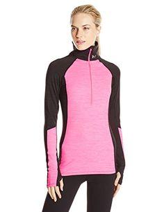 Under Armour Women's Coldgear Cozy 1/2 Zip Shirt, Black/Pink Punk/Metallic Silver, X-Small Under Armour http://www.amazon.com/dp/B00QHG6N3O/ref=cm_sw_r_pi_dp_-XVOwb1QJ5BHQ