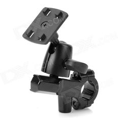 Universal Motorcycle Rotation Mount Holder For Cell Phone Gps Walkie Talkie Black