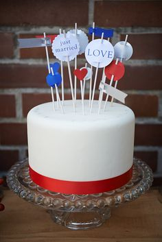 Wonderful British Style Wedding Cake!