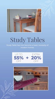 Study Table has now become a basic necessity of modern homes. A nice Wooden study desk makes the task of reading and writing much more comfortable, so let the creative mind in you be more productive. The solid wood study tables are indeed an important part of everyone's life. Study Desk, Study Tables, Study Table Online, Wooden Street, Engineered Wood, Solid Wood, How To Become, Modern Homes, Writing