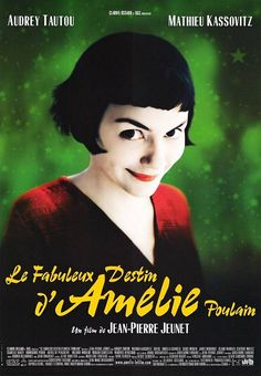 Amelie | Beautiful Audrey Tautou with the brilliant music of Yann Tiersen. | Greatness in pure form.
