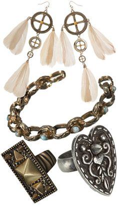 A set of accessories Boho