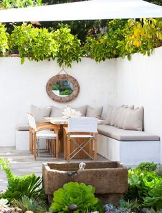 8 Tips for Crafting a Homey Outdoor Living Space via @PureWow