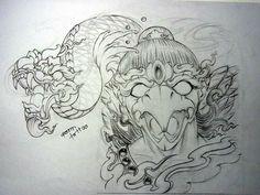 C Tattoo, Sak Yant Tattoo, Thai Tattoo, Lion Head Tattoos, New Tattoos, Japanese Tatoo, Thailand Art, Asian Tattoos, Samurai Tattoo