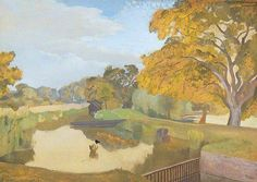 Upper WaterUpper Water by John Northcote Nash   Leeds Museums and Galleries Date painted: 1933 Oil on wood, 55.2 x 80.6 cm Collection: Leeds Museums and Galleries