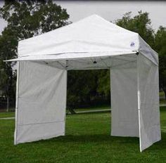 ez pop up canopy 10x10 z shade commercial shelter fair tent 10 x 10 4 walls new - Ez Up Canopy 10x10