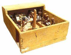 Wooden model of Meketre's carpenter's workshop.