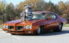 Muscle cars are all about excess, but this might be a little too much…