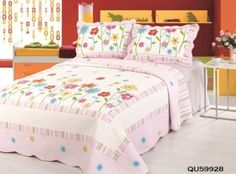 Harmony Garden Stitched Quilt Sets by Home Sensation, http://www.amazon.com/dp/B00508TTPY/ref=cm_sw_r_pi_dp_d5BCrb1PG4QJC