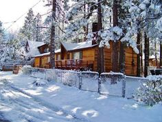 Labor Day Special! New Listing! Outstanding 4BR Big Bear House w/Private Hot Tub, Wifi & Large Fenced Yard - Close to the Lake & Skiing! #travel #california