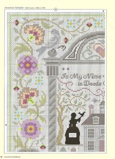 SAMPLER cross stitch pattern.  Gallery.ru / Фото #41 - 51 - ZinaidaR