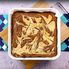 Nutella and Baileys cheesecake brownies