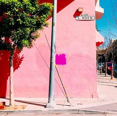 The iconic SF pink wall, made famous by @sfgirlbybay. #SeeSanFrancisco