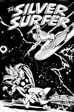 John Buscema - Surfer & Thor