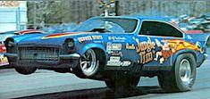 Funny Car Drag Racing, Nhra Drag Racing, Funny Cars, Drag Racing Videos, Auto Racing, Jungle Jim Liberman, Jungle Jim's, Automobile, Top Fuel Dragster