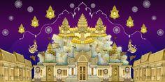 Thai style illustration