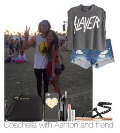 """Coachella with Ashton and friend"" by irish26-1 ❤ liked on Polyvore"