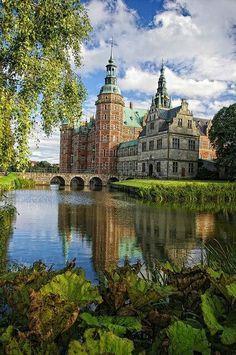 Frederiksborg castle, Denmark. We want to visit Denmark so much!