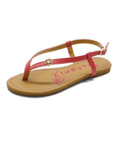 This Betani Coral Charm Abbey Sandal by Betani is perfect! #zulilyfinds