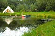 vlakbij Eden project, misschien als tweede camping na de kust