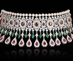 Diamond-necklaces-burmese-ruby-emerald-and-diamond-choker-highjewelry-pearlstrands-diamondeckl