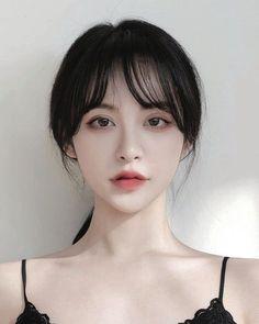Ulzzang Hair, Ulzzang Makeup, Ulzzang Korean Girl, Cute Korean Girl, Girl Face, Woman Face, Korean Beauty, Asian Beauty, 3 4 Face