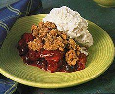 Mixed Berry Crisp recipe