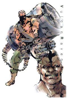 Vulcan Raven, Metal Gear Solid 1