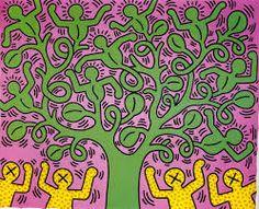 The Legend Graffiti Keith Haring HD Wallpapers: Keith Haring Keith Haring Poster, Keith Haring Art, Bad Painting, Fleurs Van Gogh, Keith Allen, Modern Pop Art, School Of Visual Arts, Wow Art, Arte Pop