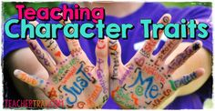 Understanding Characters resource and teaching tips - 3 steps teaching characters: vocabulary to describe the characters, the difference between physical and personality traits, difference between emotions and traits